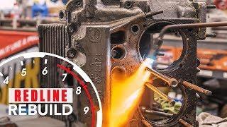Volkswagen Beetle Engine Rebuild Time Lapse | Redline Rebuild #7