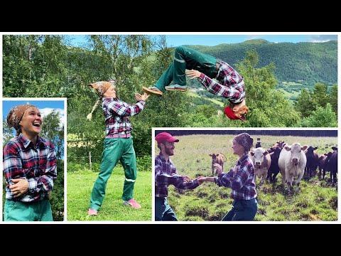 Cow Farm Dance - Sondre & Tanya #Video