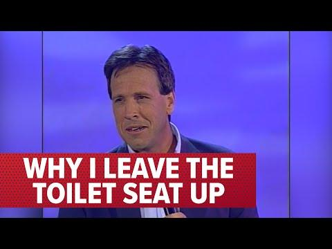 Why I Leave the Toilet Seat Up Video | Comedian Jeff Allen