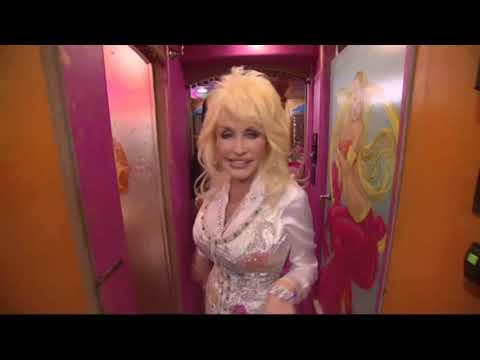 Dolly Parton shows off her tour bus video