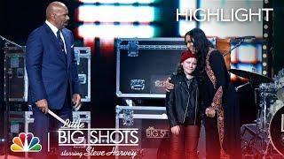 Little Big Shots - Little Drummer Gets the Surprise of a Lifetime (Episode Highlight)