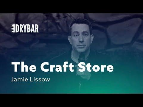 Trapped in the Craft Store. Comedian Jamie Lissow