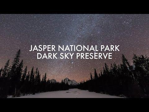 Jasper Dark Sky Preserve | Starlight and northern lights time lapse | Alberta, Canada