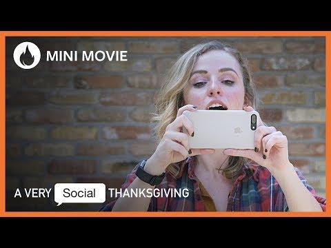 A Very Social Thanksgiving | Humorous Video