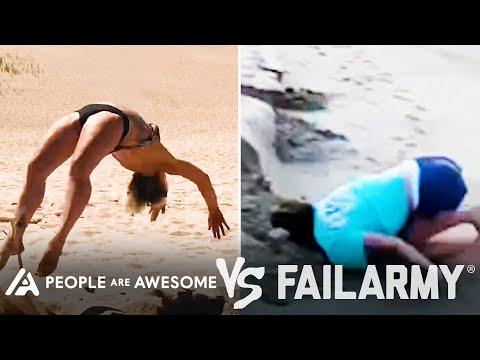 Epic Backflip Wins Vs. Fails & More! | People Are Awesome Vs. FailArmy #Video