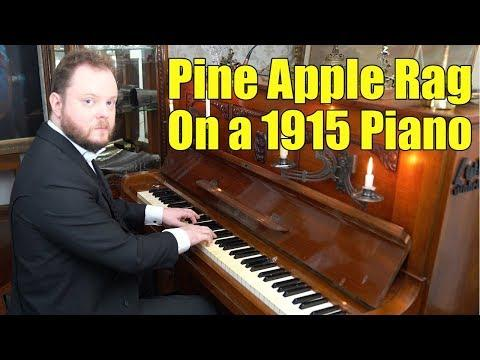 Pine Apple Rag on a 1915's piano - Scott Joplin