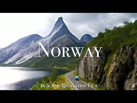 Norway 4K - Scenic Relaxation Film with Calming Music #Video