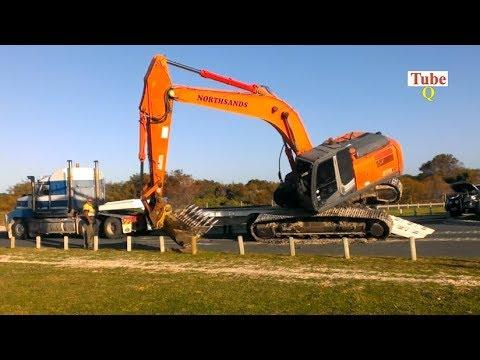 The Amazing excavator's incredible in the world