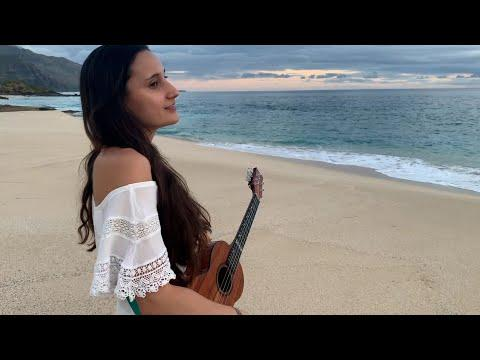 White Sandy Beach of Hawaii - Taimane - Happy Birthday Israel Kamakawiwo'ole! #GoogleDoodle