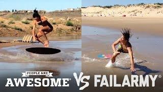People are Awesome vs FailArmy!! - (Episode 1)