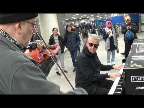 Pianist Encounters a VIOLA Player - MAGIC OCCURS!