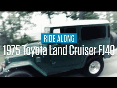1975 Toyota Land Cruiser FJ40 | Ride Along