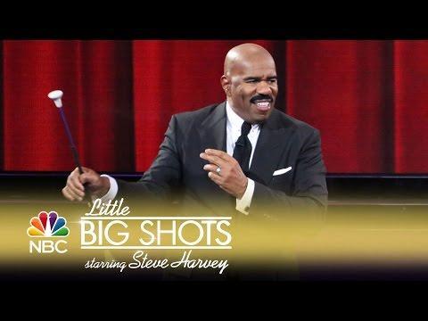 Little Big Shots - Steve Harvey Learns Baton (Episode Highlight)