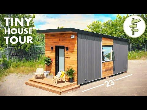 Stunning Tiny House with Smart Detachable Trailer Design Video - Full Tour