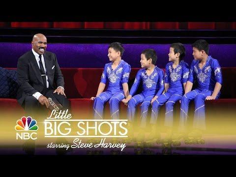 Little Big Shots - Amazing Roller-Skating Acrobats (Episode Highlight)
