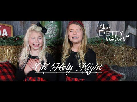 Oh Holy Night -The Detty Sisters Video