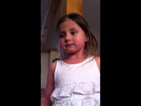 Feisty Five-year-old, Saige, Is Mad And She's Moving On!