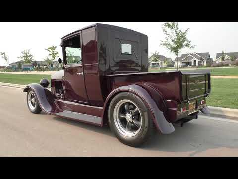 1929 Ford Model A Pick-Up Street Rod 'Good-Guys Top 10 Builders Choice' #Video