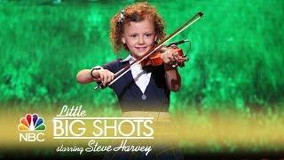 Little Big Shots - Foot-Stompin' Celtic Band (Episode Highlight)