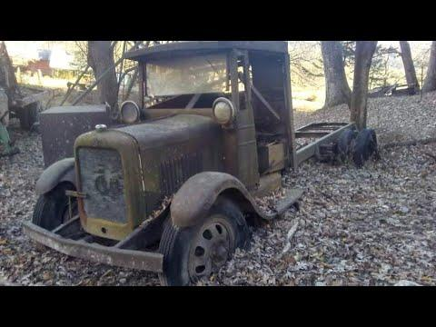 Will it run after 81 years 1929 gmc truck #Video