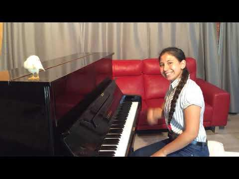 In The Mood amazing piano cover by 14 y.o Danielle! #Video