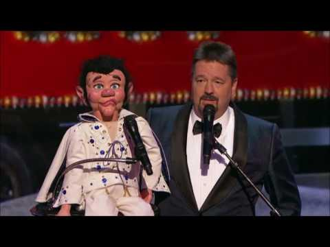 Terry Fator Performs Elvis LIVE Christmas Special  | America's Got Talent Holiday Show