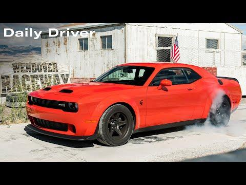 807HP Dodge Challenger Super Stock Video, RIP Caravan, 500HP Audi Etron S - Daily Driver