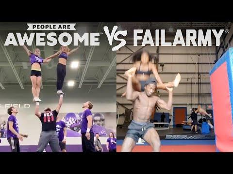 Win or Fail Video? | People Are Awesome Vs. FailArmy!