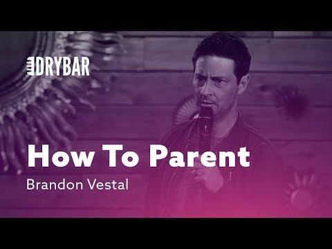 Learning How To Parent. Comedian Brandon Vestal