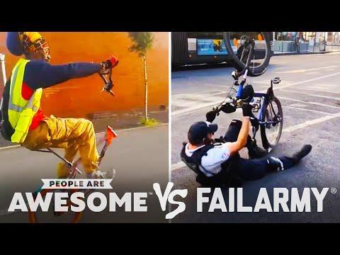 Bike Wheelies & More Wins Vs. Fails Video | PAA Vs. FailArmy!