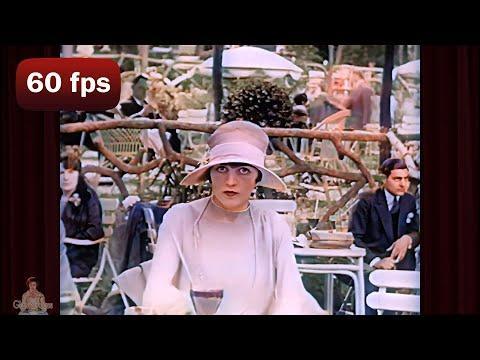 A Day in 1920's Paris | 1927 AI Enhanced Film [ 60 fps, 4k] #Video