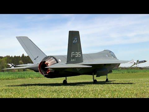 RC Scale Airplanes - Giant Rc F 35 Lightning II
