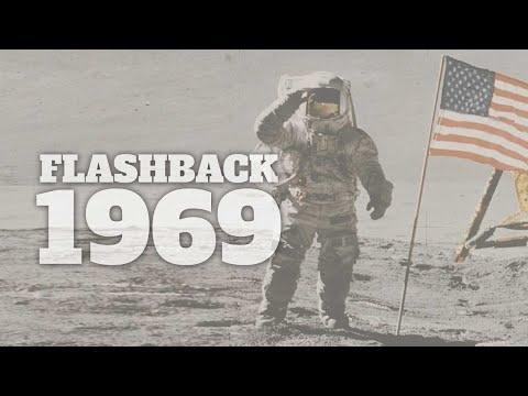 Flashback to 1969 - A Timeline of Life in America #Video
