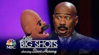 Little Big Shots - Steve Tries His Hand at Ventriloquism with Darci Lynne (Episode Highlight)