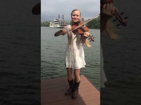 Multitasking!! Fiddle-Dance-Sing - Oh! Susanna - Hillary Klug