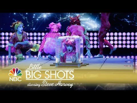 Little Big Shots - Crazy Little Contortionists (Episode Highlight)
