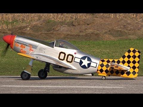 RC P-51D Mustang *BOO-MAN CHOO*