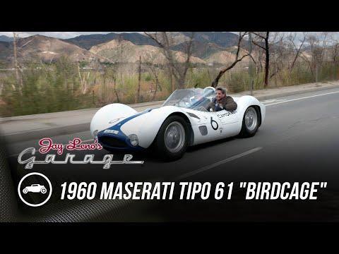 1960 Maserati Tipo 61 Birdcage - Jay Leno's Garage