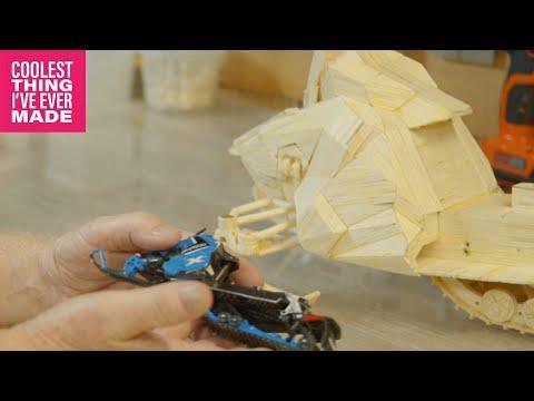 How Matchstick Art is Made - (BONUS EPISODE) #Video