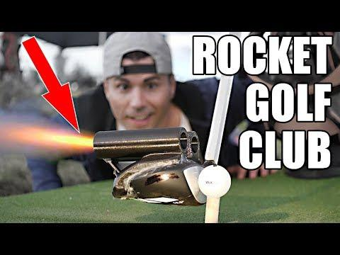 ROCKET POWERED Golf Club at 100,000 FPS