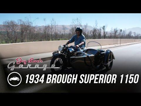 1934 Brough Superior 1150 - Jay Leno's Garage