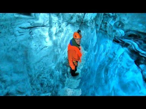Walking Through An Ancient Ice Cave. Your Daily Dose Of Internet.