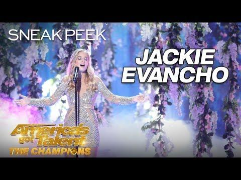 LEAK: Jackie Evancho Performs