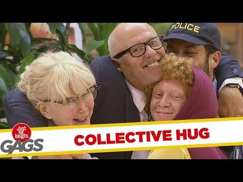 Collective Hug Prank