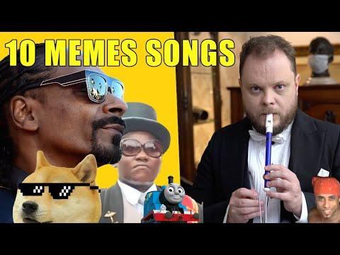 10 Memes Songs on the Slide Whistle Video