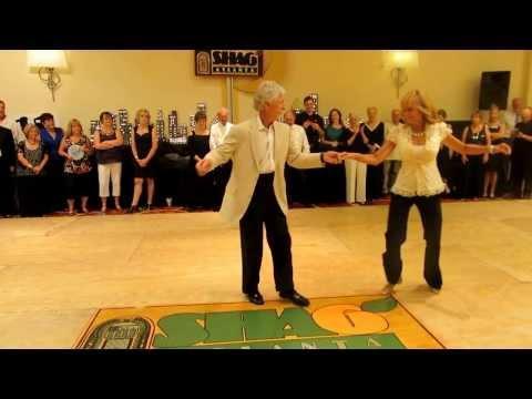 Charlie & Jackie Spotlight Dance At ShagAtlanta