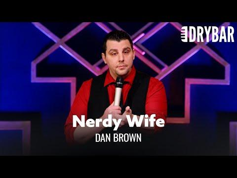 When Your Wife Is Just As Nerdy As You Are. Dan Brown #Video