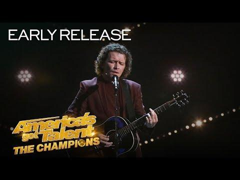 Michael Grimm Returns With I'd Rather Go Blind by Etta James - America's Got Talent: The Champions