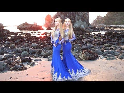 LIGHT ELVES (Ljósálfar) - Original Song - Harp Twins, Camille and Kennerly