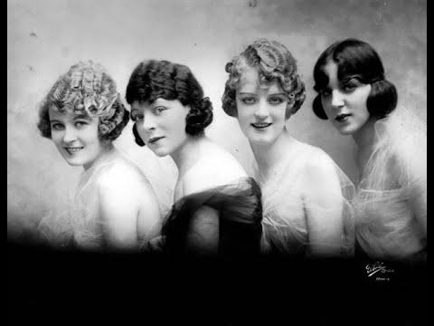 Fabulous Vintage Photos of Women's Hairstyles and Make Up From the 1920s Video